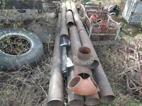 Steel Pipe Victaulic - 1500 ft x 8 inch (sell or trade)