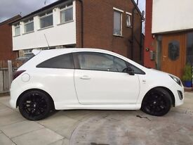 2012 Vauxhall Corsa Limited Edition - White - 23,500 miles