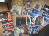 "huge record collection albums lps vinyl singles 12"" 7"" cds cassettes"