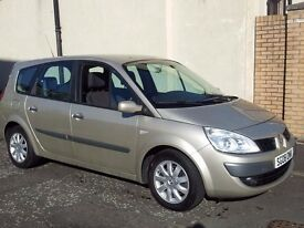 2008 renault grand scenic 1.6 dynamique.vvt,5 door mpv.(7 seater,petrol.manual.)