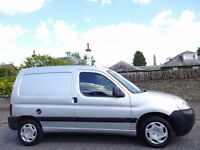 12 MONTH WARRANTY! PEUGEOT PARTNER 600 LX HDi SILVER Panel Van One Owner- Low Mileage- FSH-12 Stamps
