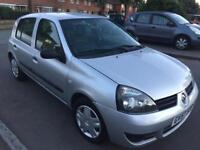 RENAULT CLIO CAMPUS 12 MONTHS MOT EXCELLENT FOR NEW DRIVERS