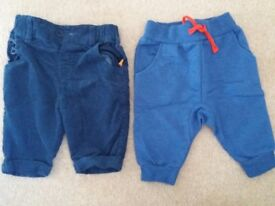 Up to 1 month (9lbs) trousers & top
