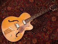 1965 Hofner President vintage electric guitar