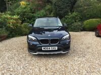 BMW X1 - X drive. 2015, Petrol; Automatic; Midnight Blue; 1 owner from new; BMW serviced