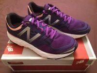 Ladies Running Shoes (Purple/Pink - Size 6) New Balance Vongo