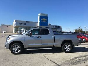 2010 Toyota Tundra SR5 Double Cab 4WD, Buckets, Local Trade!!!!!
