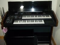 electric organ brilliant sound, play sequenser musical display Full band