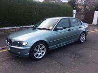 BMW 316 se 1.8 02 Reg 1 year mot fsh excellent condition part exchange welcome