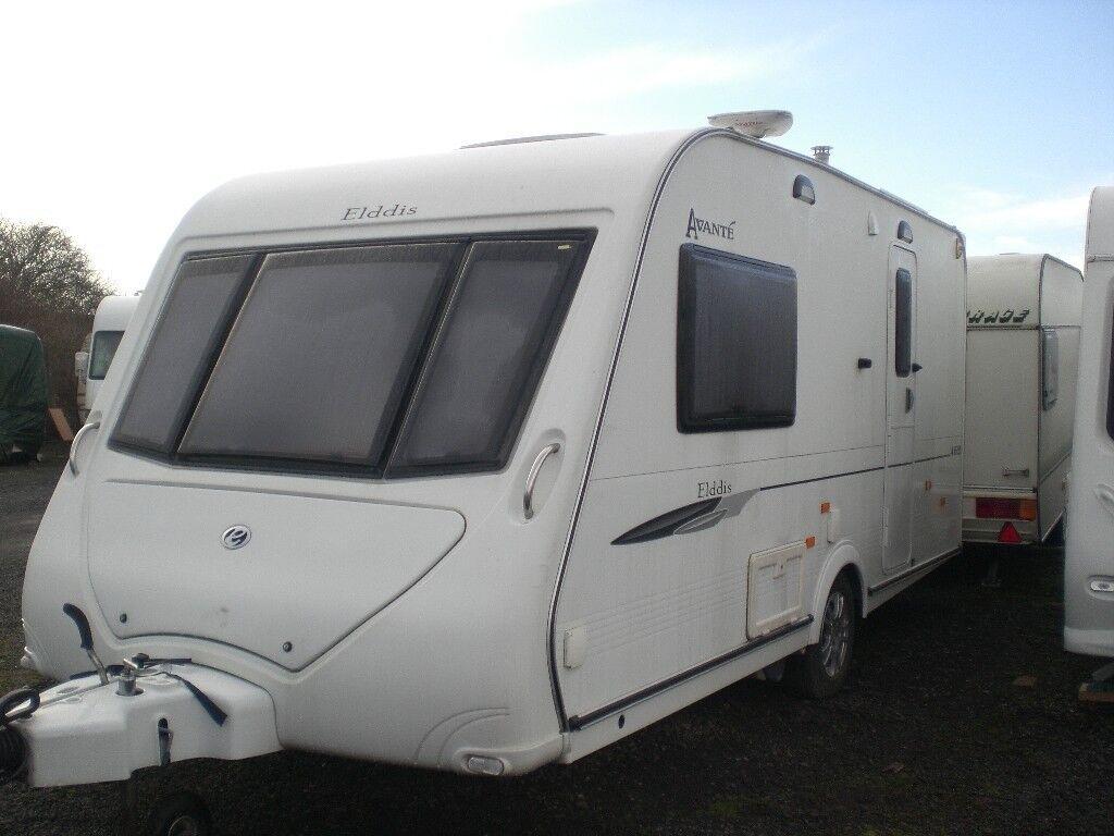 caravan two berth elddis avant 2009