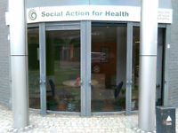 Desk Hire and Meeting Rooms available at Socail Action for Health