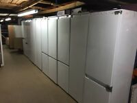 Job lot, 23 Intergrated Kitchen Appliances, dishwashers, fridges, freezers,