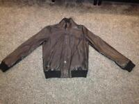 TED BAKER MENS LEATHER JACKET. IDEAL CHRISTMAS PRESENT