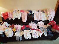 Girl baby clothes bundel 0-3 £20