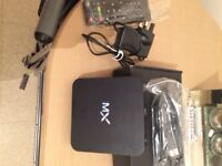 Mx 4.2 android box not been used