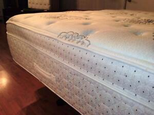 Luxury King Sealy Posturepedic Crown Jewel 15in Mattress - $320 (Metrotown Area - Includes Delivery)