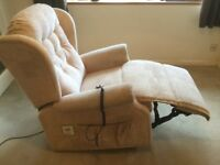 Rise & Recline powered armchair