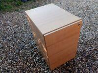 Wooden Drawers / Desk Office / Small Filing Cabinet / Chest of Drawers