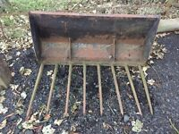 Muck Bucket, Tractor, Farm Implement, Agricultural.Delivery Available.
