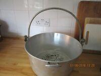Vintage Aluminium Jam Pan