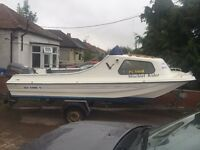 Sea Hawk 17 Fast Fisher with Suzuki 55HP oil Injection outboard engine