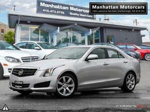 2014 CADILLAC ATS 2.5L PREMIUM |PHONE|1OWNER|WARRANTY|76000KM