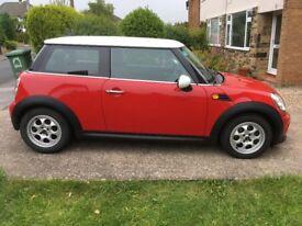 3 door Mini Cooper 2012 (Red)