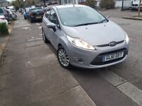Ford Fiesta TITANIUM 2012 1.4 5dr, silver grey £3995