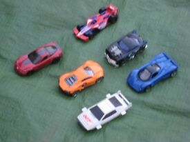 Six Various Small Metal Toy Cars for £6.00