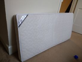 Foam Cot Mattress with cover (Mamas and Papas)