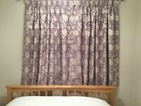 Curtains made to measure fully lined £50 per pair
