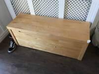 Ikea storage chest, blanket box.