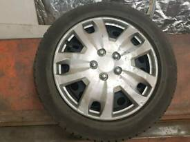 Winter tyres on wheels Vauxhall Astra