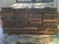 Wooden Pine Flooring Blocks