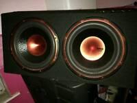 Edge sub and speakers