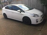 Toyota Prius 2010 white colour, PCO license. Harrow, London. registered end of 2010
