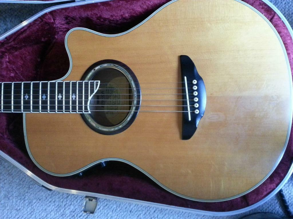 87 Yamaha Apx 10a Electro Acoustic W Hard Case Has The Specs Of The