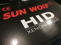6000k SUNWOLF CANBUS ERROR FREE HID SLIM BALLASTS H7 55W Audi BMW Series VW Golf