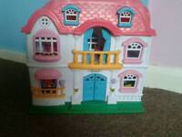 Dolls house 2 with furniture