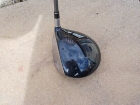 Left handed driver. 'Taylor Made'