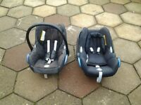 2 Car Child Seats. Both seats have been used but in good condition.