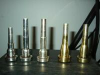 MONETTE AND GR TRUMPET AND CORNET MOUTHPIECES