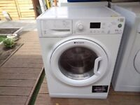 HOTPOINT AQUARIUS WASHER AND DRYER 9 + 6 KG LOAD