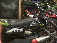 Stomp120 pitbike
