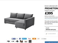 IKEA sofa bed. SOLD