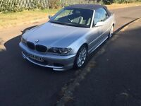 bmw 330ci convertible sport pls read roof not working bargain no offers