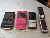 4 MOBILE PHONE'S