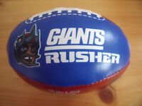 Giants mini softee American football. Bought in the US. £4 ovno.