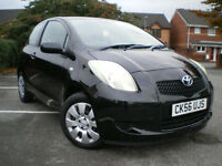 *** Toyota Yaris 1.3 VVT-i T3 3dr*** ONLY COVERD 45K+ 3 Months WARRANTY*** FULL SERVICE HISTORY***