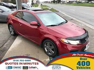 2012 Kia Forte Koup EX | ROOF | HEATED SEATS | BLUETOOTH